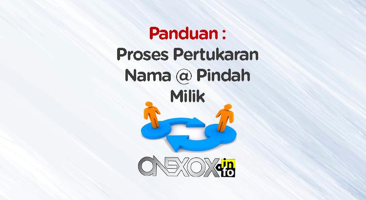 Tukar Nama ONEXOX
